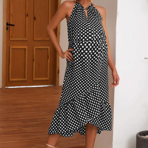 Maternity Casual Color Print Dress