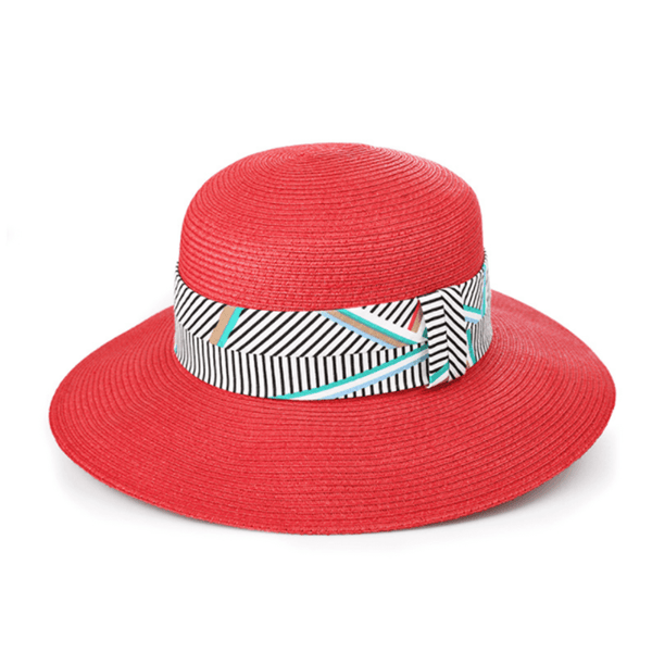 Fashion Striped Wild Sunshade Hat