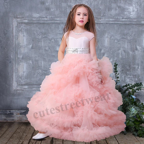 Autumn /Winter Children's Skirt Spring Summer Peng Sha Princess Skirt Dress