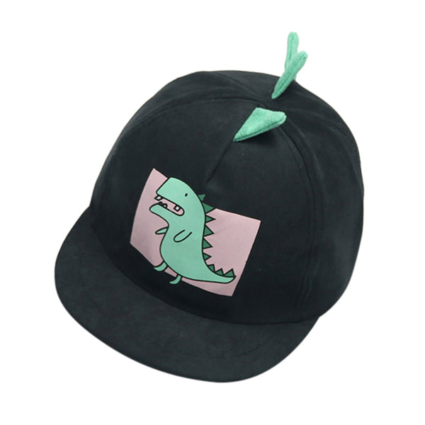 Baby Boy Hats Soft Cotton Dinosaur Sunhat Eaves Baseball Cap Sun Hat