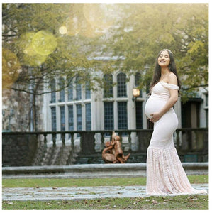 Hot Fashion Maternity Dresses Clothes Photo Shoot