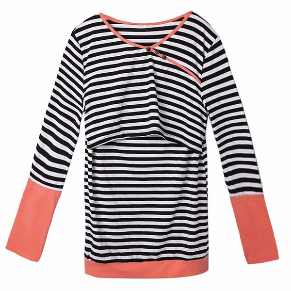 Nursing Tops Maternity shirt Breastfeeding Clothes