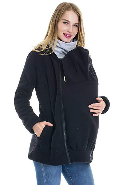 Baby Carrier Jacket Kangaroo Warm Pregnancy Coat hoodies