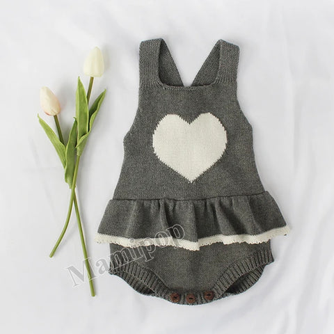 Love Baby Knitted Woolen Knitted Knitted Woolen Romper