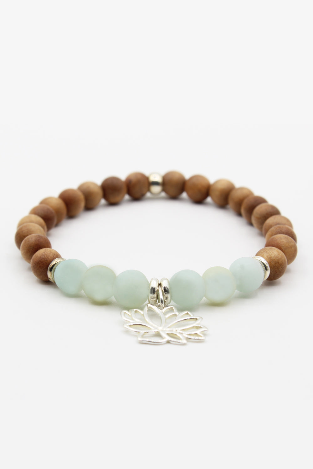 Self-Growth Amazonite Mala Bracelet