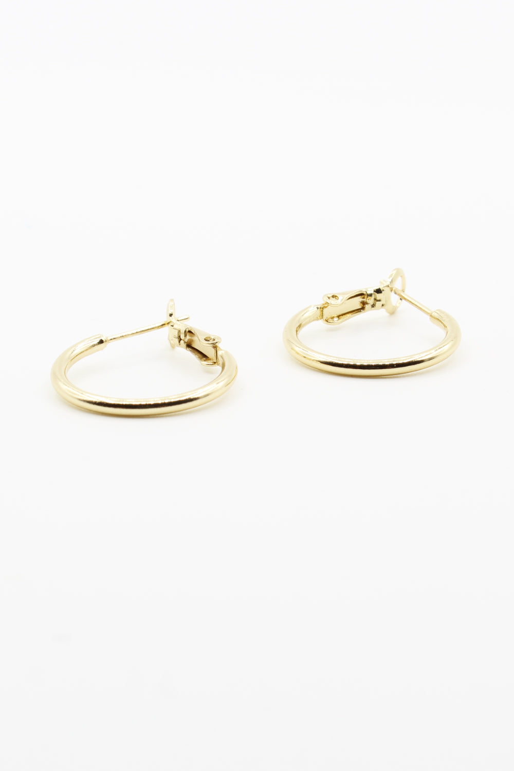 18k Gold Filled Hoop Earrings