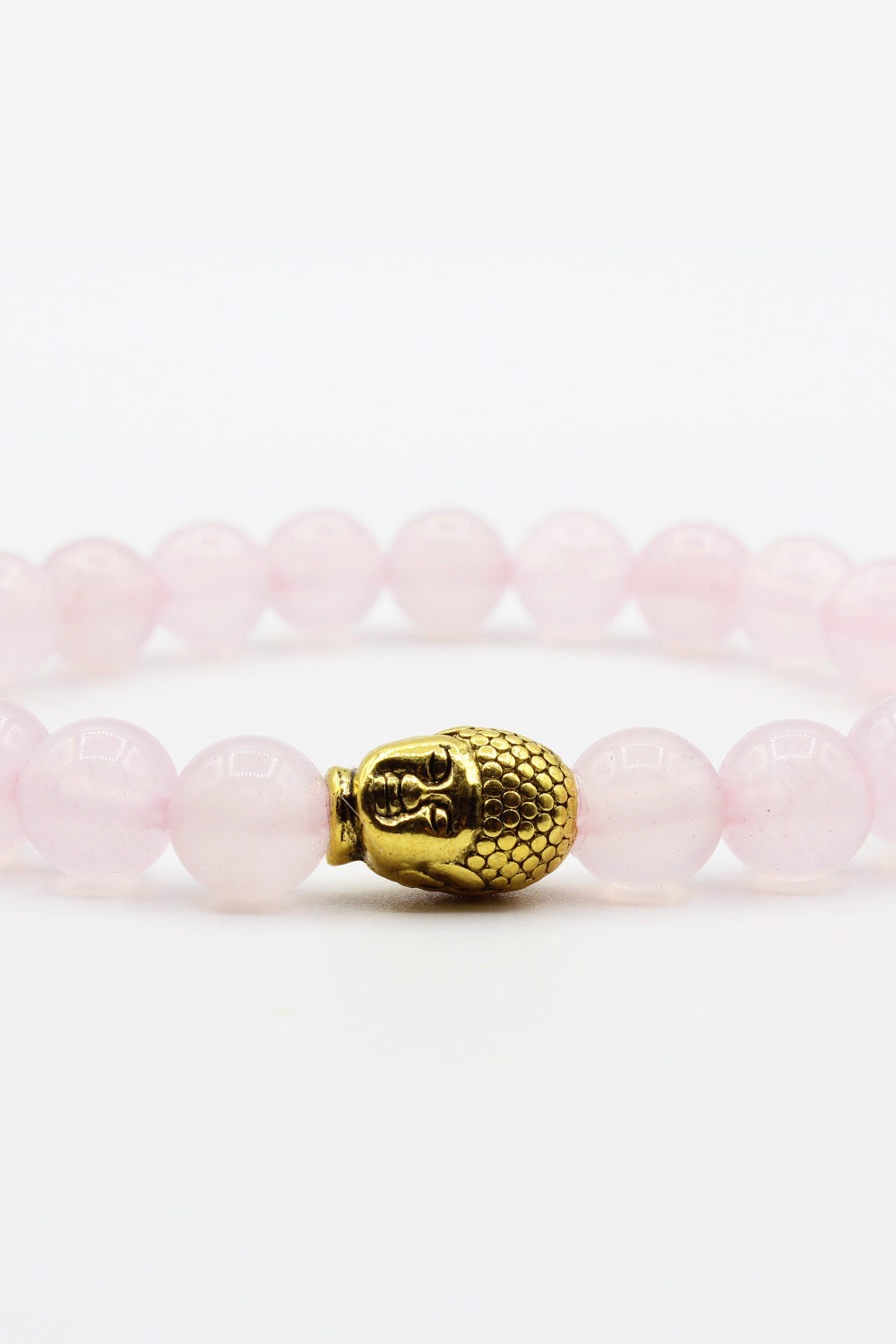 INFINITE LOVE Rose Quartz Mala Bracelet