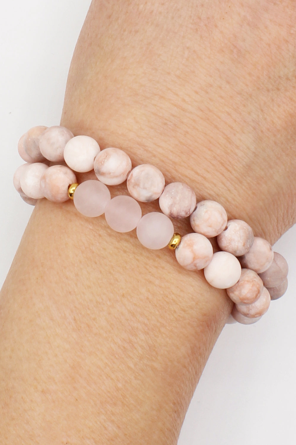 Flourish Stackable Mala Bracelets