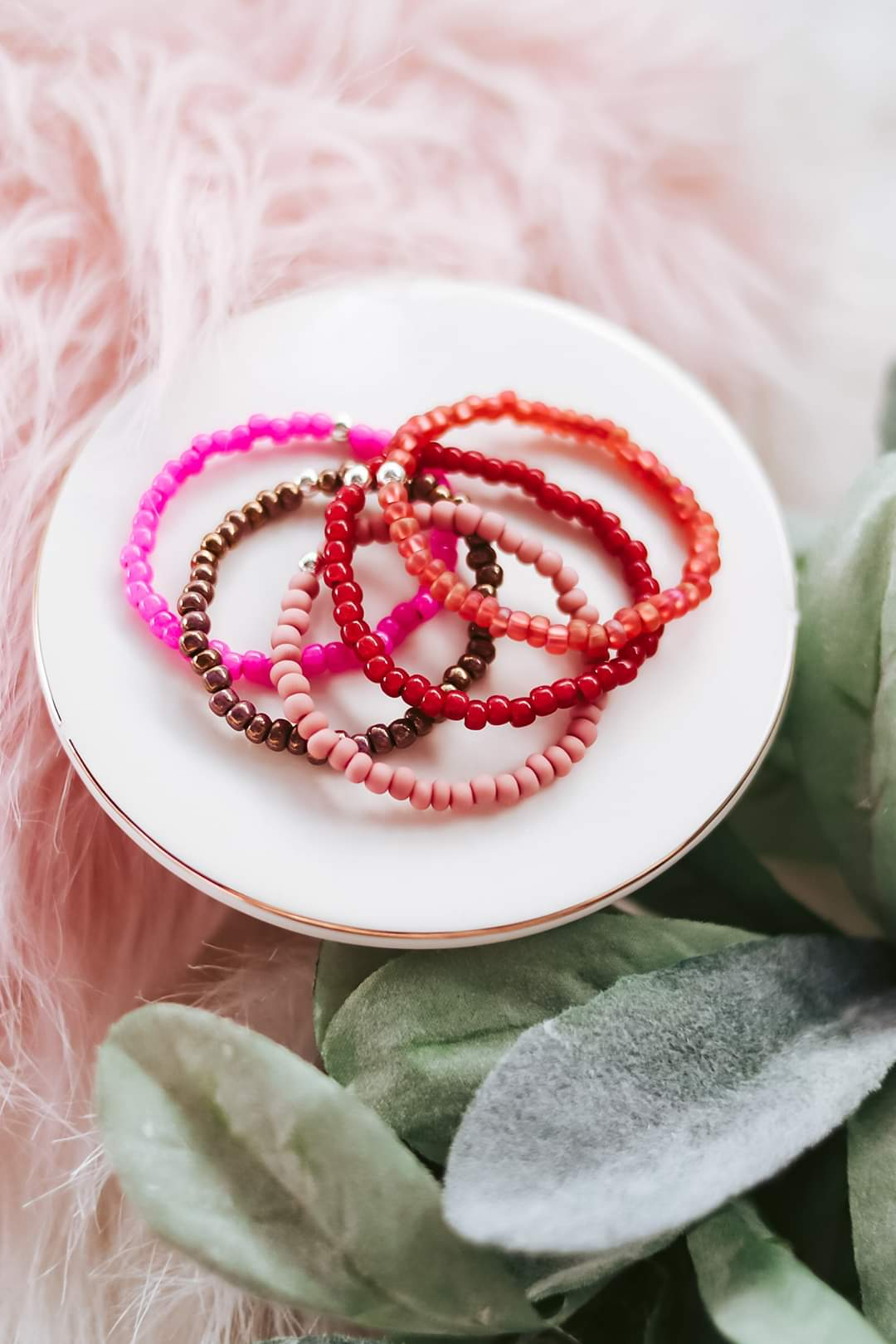 Wholesale Seed Bead Bracelets (Children's Sizes)