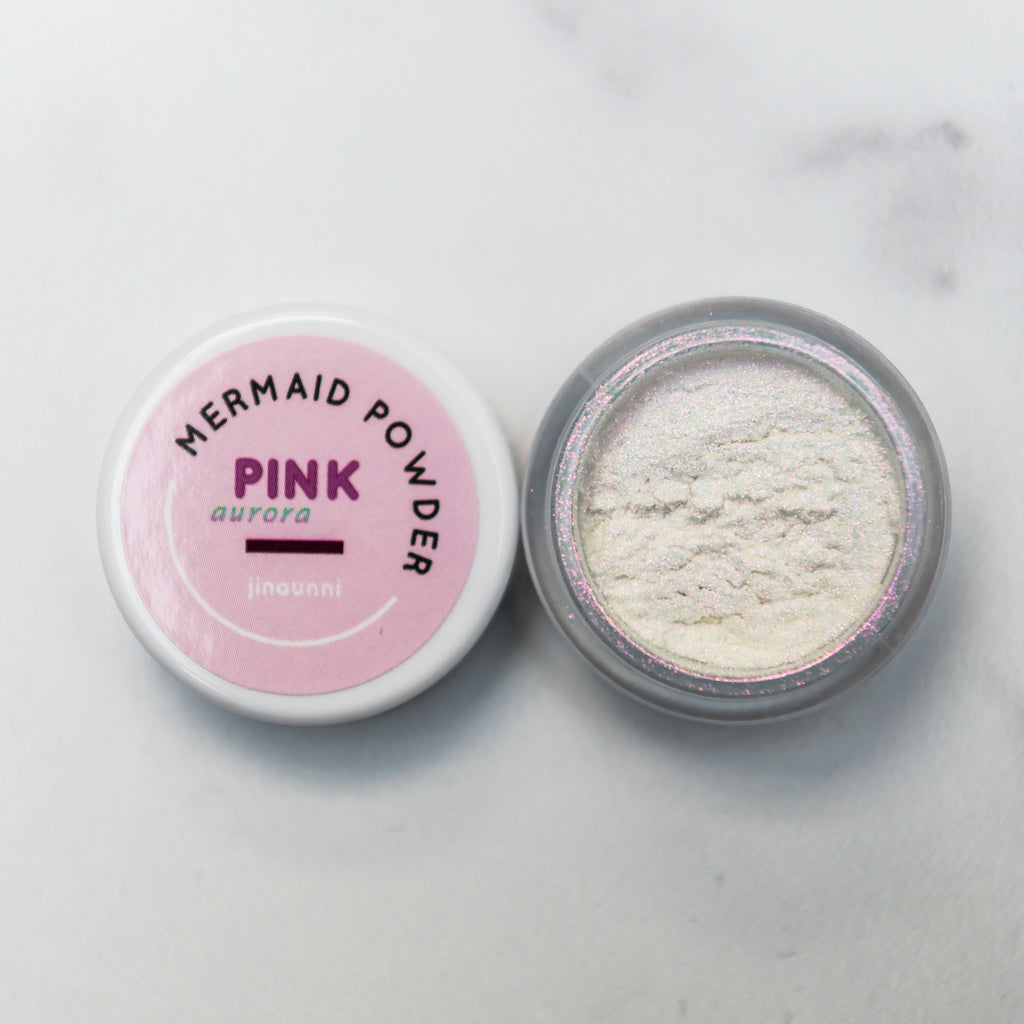 Jinaunni Pink Mermaid Powder