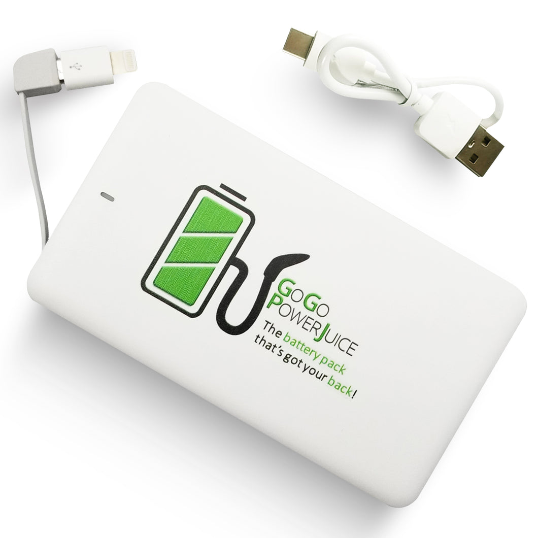 GoGoPowerJuice 4000 mAh Portable Battery Pack