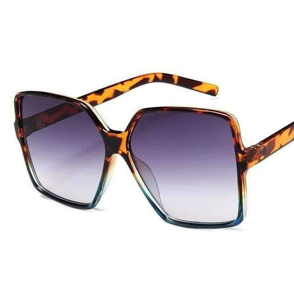 Oversize Square Sunglasses