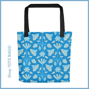 Floral Print Tote Bag from UnBlink Studio by Jackie Tahara