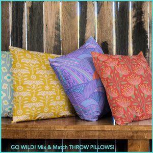 Throw Pillows - UnBlink Studio by Jackie Tahara