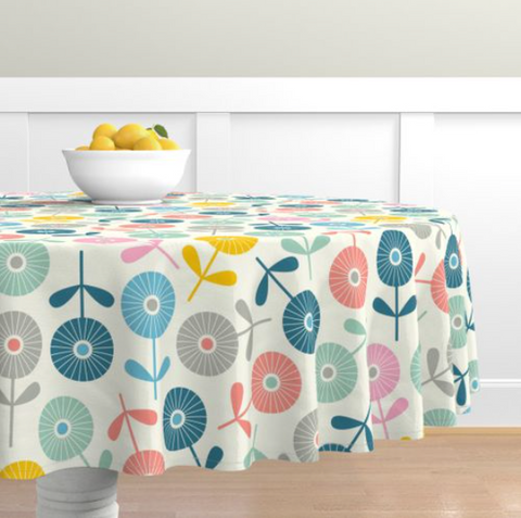 Tablecloth from UnBlink Studio by Jackie Tahara