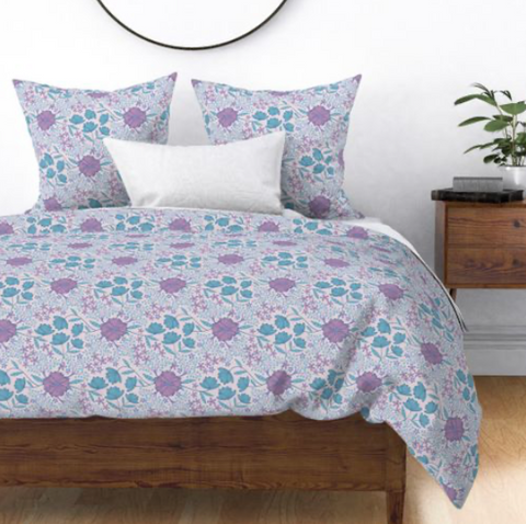 Bedding design from UnBlink Studio by Jackie Tahara