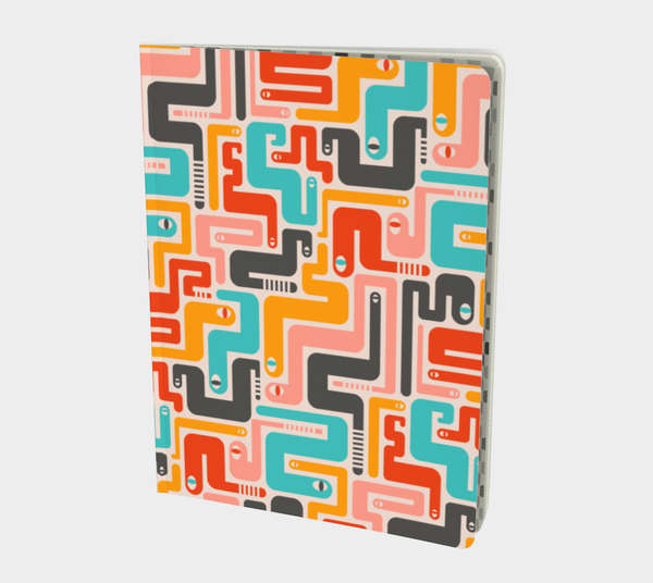 Retro Rattlers - Notebook - Large