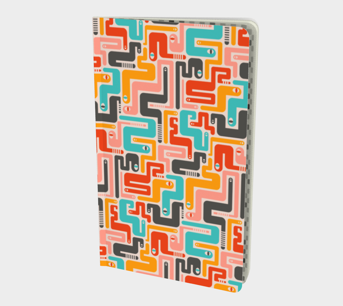 Retro Rattlers - Notebook - Small