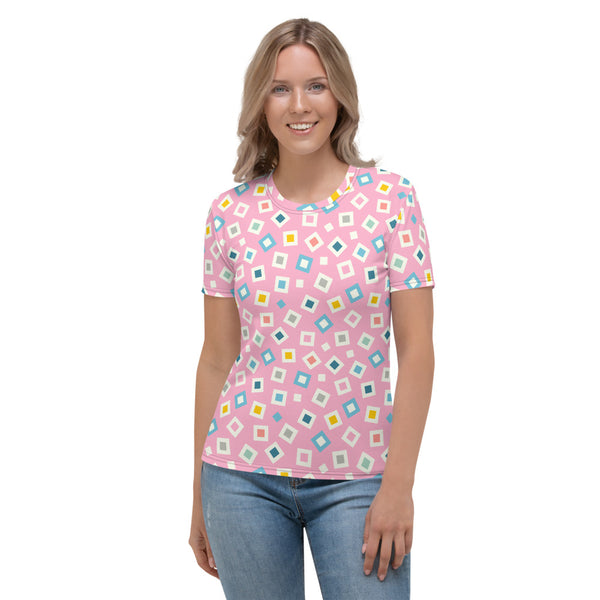 Tinkle Print - Women's All-Over Print T-shirt