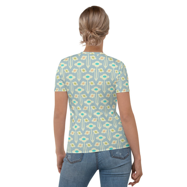 Yvette Print - Women's All-Over Print T-Shirt