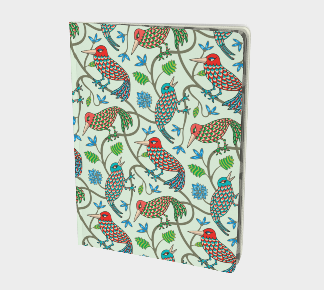 Three Little Birds - Notebook - Large