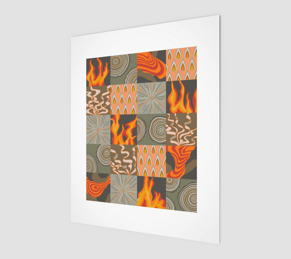 "Elemental Fire - Fine Art Print - 8""x10"""