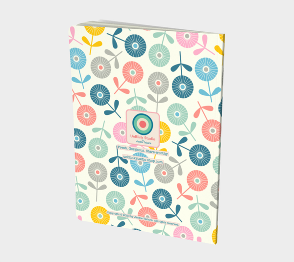 Spring Ditsy - Notebook - Large