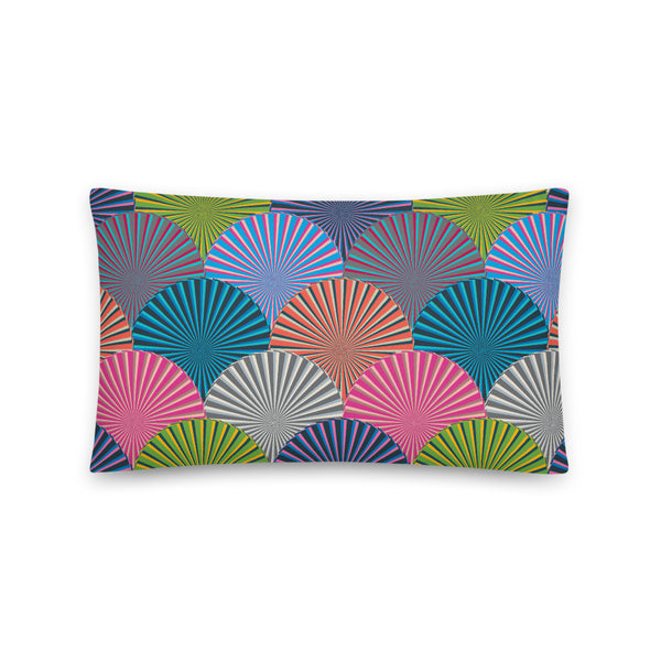 Kaleidoscope Print - Throw Pillow