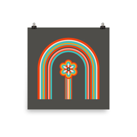 Colours of the Rainbow - Art Print - in Dark