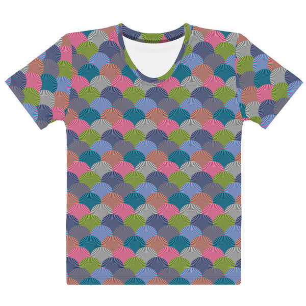 Kaleidoscope Print - Women's All-Over Print T-Shirt