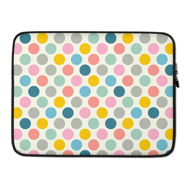 Spring Dotsy Print - Laptop Sleeve