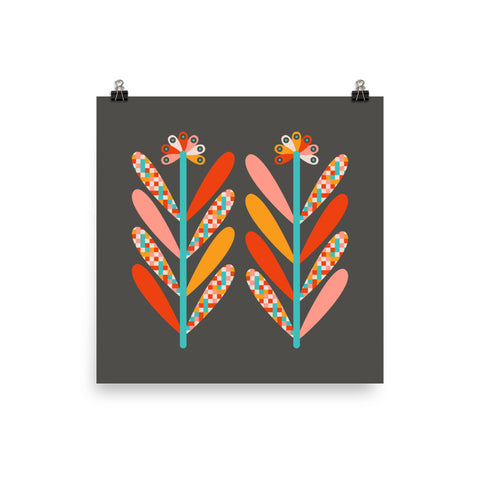 Blooms - Art Print - in Dark