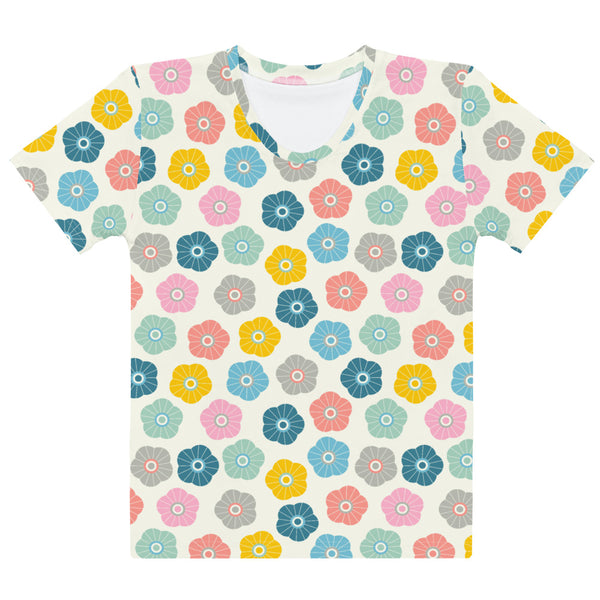 Spring Daisies Print - Women's All-Over Print T-Shirt