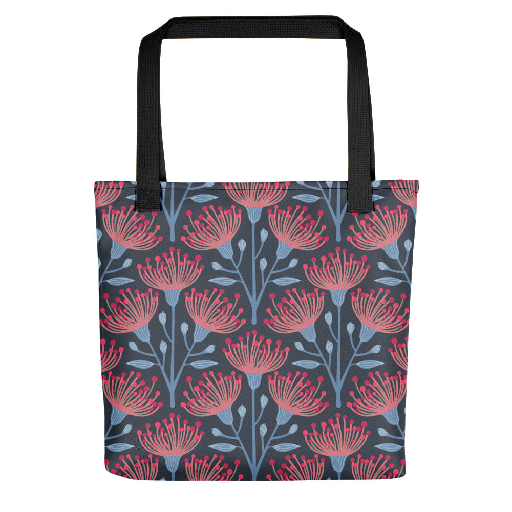 Eucalyptus Print - Tote Bag - in Navy