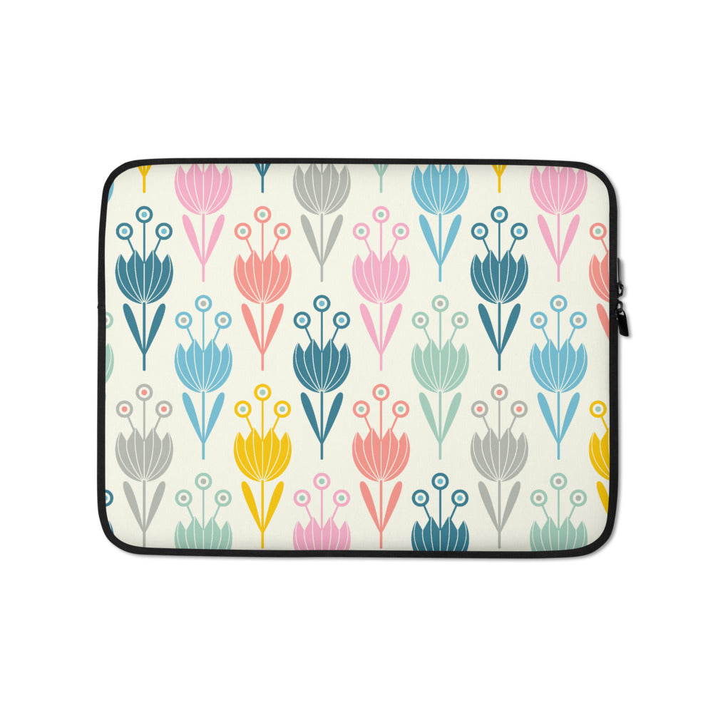 Spring Tulips Print - Laptop Sleeve