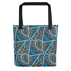 Bird's Eye View Print - Tote Bag