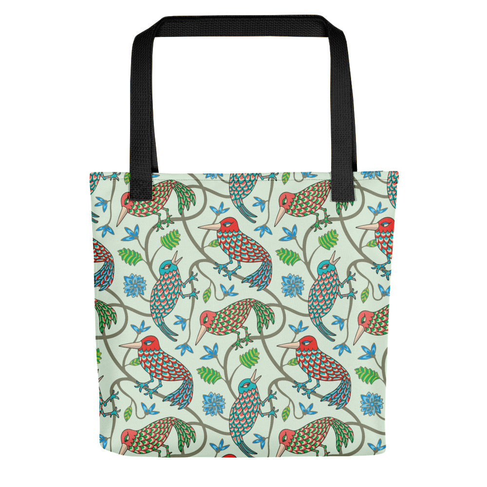 Three Little Birds Print - Tote Bag