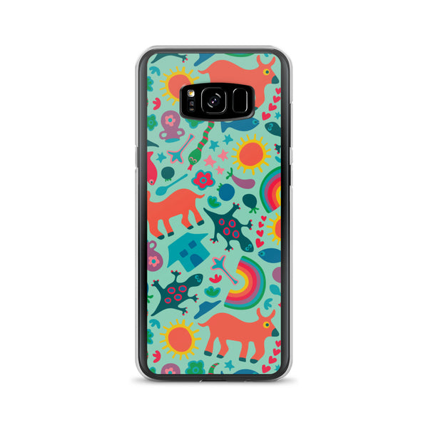 In the Village Print - Samsung Case