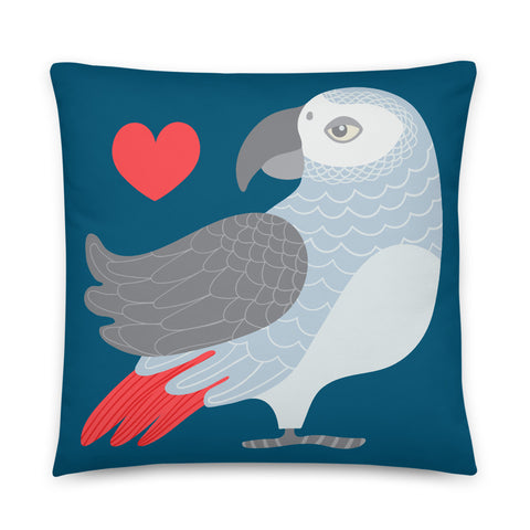 Parrot Love - Throw Pillow