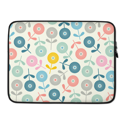 Spring Ditsy Print - Laptop Sleeve
