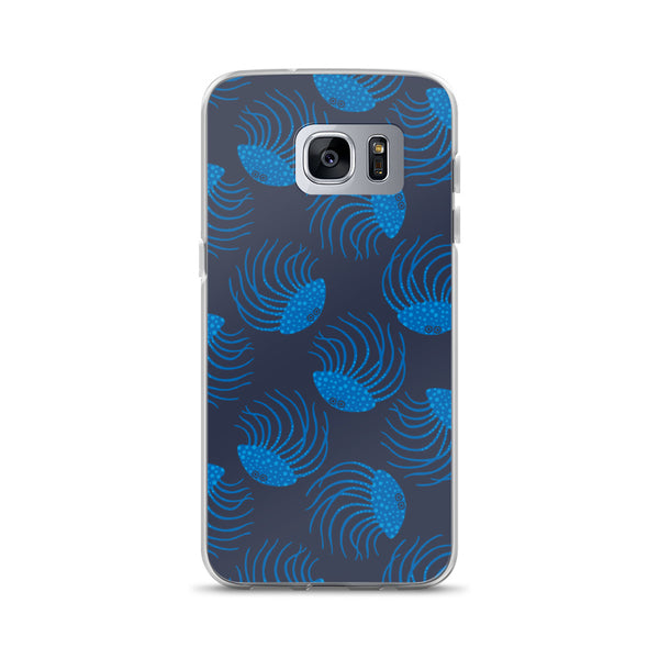 Jellyfish Print - Samsung Case - in Blue