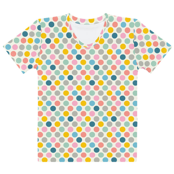 Spring Dotsy Print - Women's All-Over Print T-Shirt