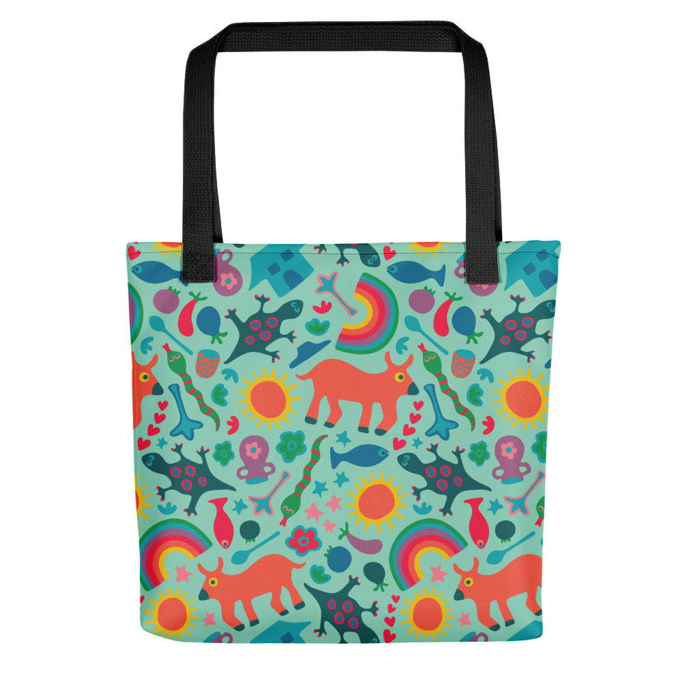 In the Village Print - Tote Bag