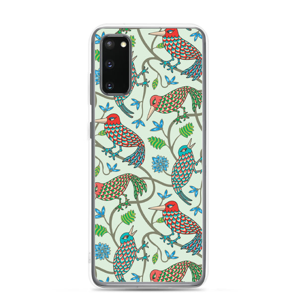 Three Little Birds Print - Samsung Case