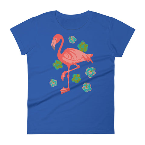 Pink Flamingo - Women's T-Shirt