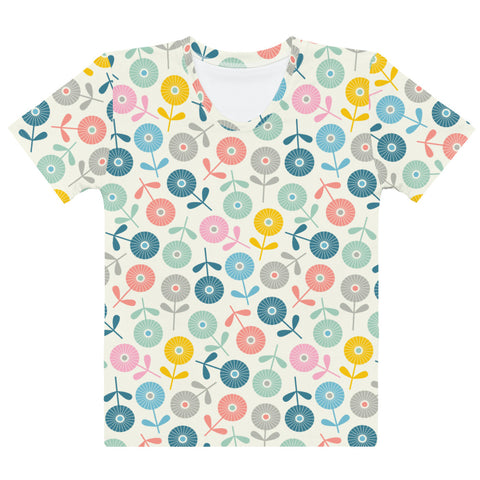 Spring Ditsy Print - Women's All-Over Print T-Shirt