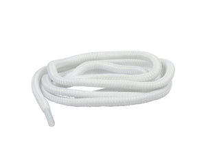 Round Thick Rope Laces White