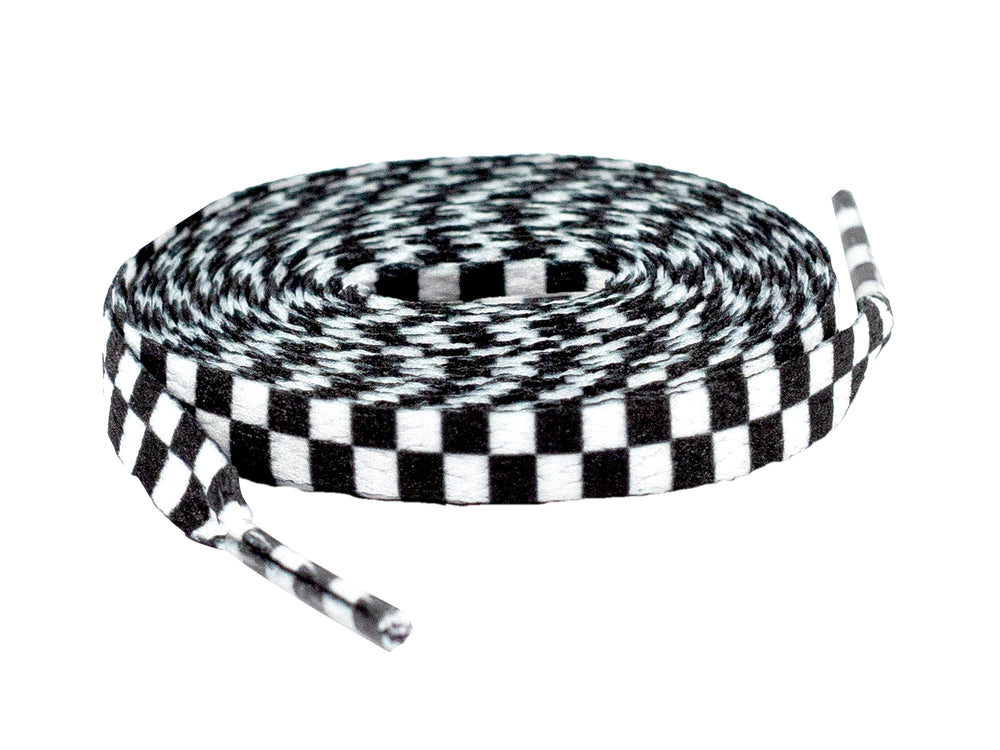 Black and White Shoelaces