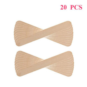DIY Waxing Beads BrowsPop™ 20 Wooden Spatulas