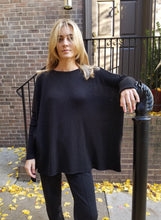 Load image into Gallery viewer, Italian Lounge Sweater - BLACK
